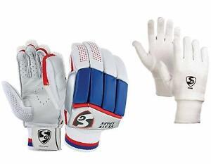 SG VS 319 Club Batting Gloves Combo Wiyh club Inner Gloves Youth Size