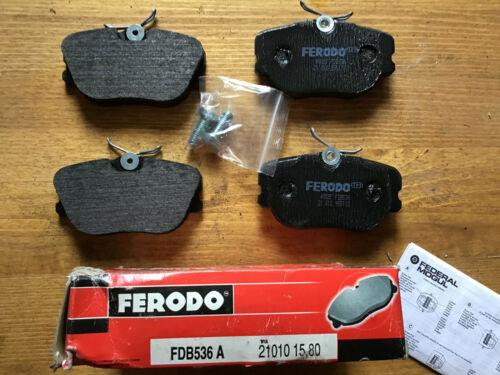 PLAQUETTES DE FREIN AVANT FERODO FDB 536 pour VOLVO 440 480