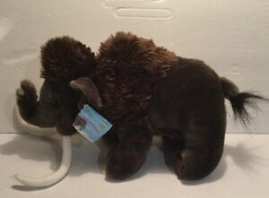 Woolly-Mammoth-Ice-Age-Plush-Nwt-New-Extinct-Prehistoric-Wild-Republic