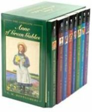 Anne of Green Gables, Complete 8-Book Box Set : Anne of Green Gables; Anne of the Island; Anne of Avonlea; Anne of Windy Poplar; Anne's House of Dreams; Anne of Ingleside; Rainbow Valley; Rilla of Ingleside by L. M. Montgomery (1998, Paperback / Paperback, Gift)