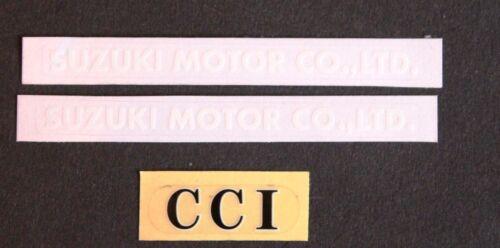 SIDE PANEL and CCI DECALS  GT750 GT550 GT500 GT380 GT250 SUZUKI MOTOR CO.,LTD