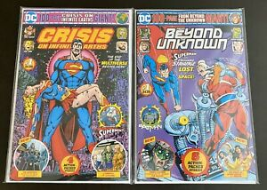 FROM-BEYOND-THE-UNKNOWN-amp-Crisis-On-Infinite-Earths-DC-100pg-Giant-Walmart-Excl