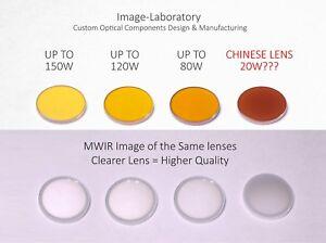 Details about Meniscus 20W-150W CO2 laser lens 12mm 18 19 20 FD FL 1 5