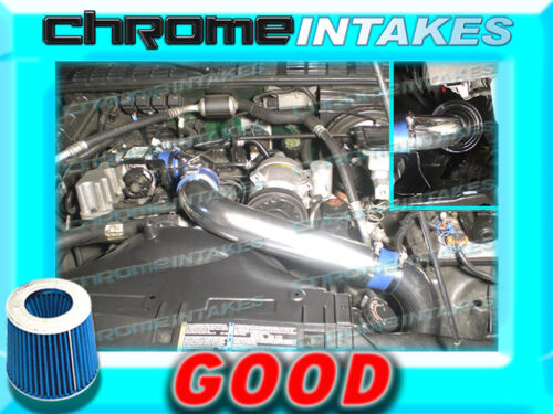 BLUE 94 95 96 97 CHEVY S10//XTREME//HOMBRE//SONOMA 2.2 2.2L FULL COLD AIR INTAKE 3/""