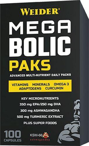 Weider Megabolic Paks 2 Schachteln (27,36 EUR/100 g)