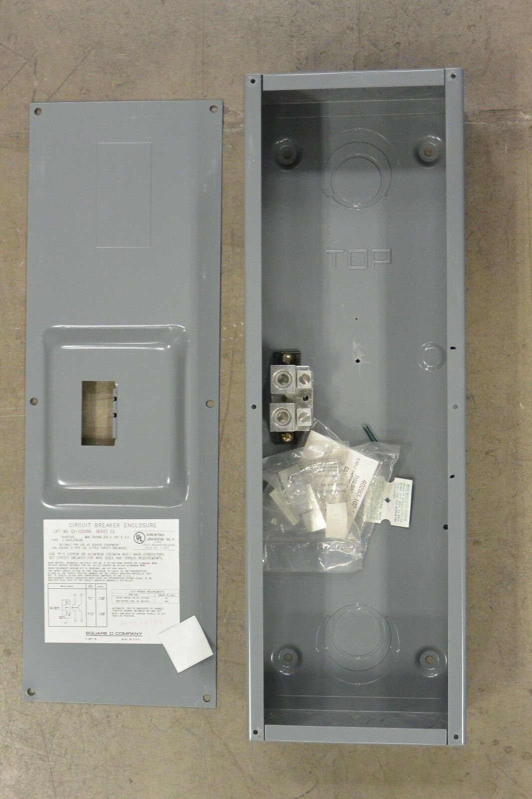 Square D Qo Qwikgard 20 Amp Twopole Gfci Breakerqo220gficp The Q22200ns 200 240v Circuit Breaker Enclosure Ebay