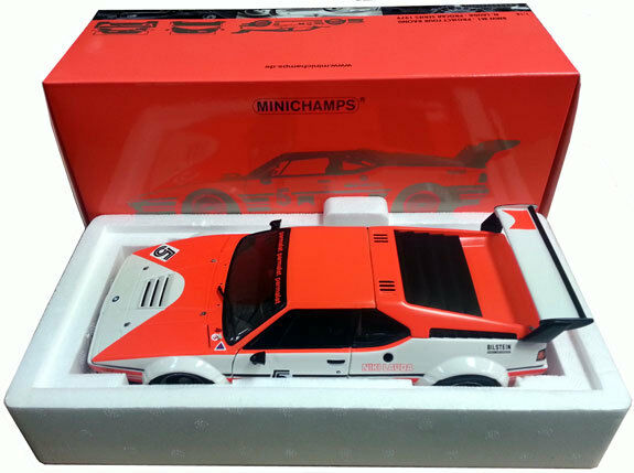 1 18 MINICHAMPS BMW M1 E26 Procar Series 1979 Lauda Marlbo ITEM 180792905