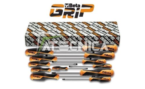 SET DI GIRAVITE 12 PZ BETA TOOLS 1263 S12  LAMA PIATTA E A CROCE 1260 1262