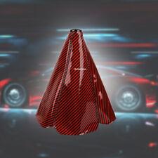 Mazdaspeed Red Carbon Fiber Shift Boot Stitch 4 Gear Cover Shifter Shift Knob