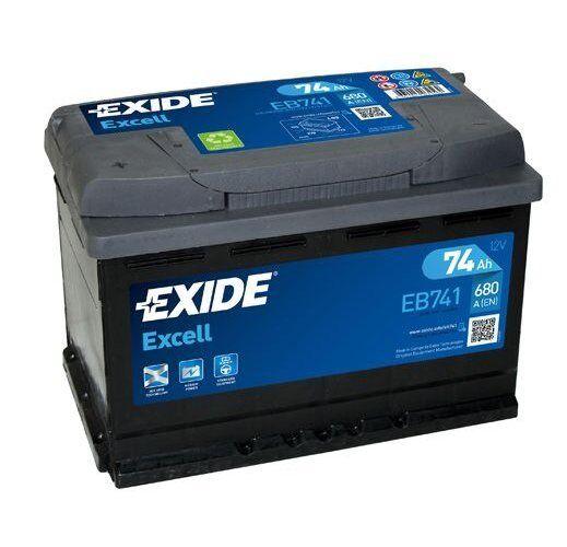 EXIDE Starter Battery EXCELL ** EB741