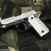 Sauer P238 Grips Billet Aluminum sig P238 Satin Cobra