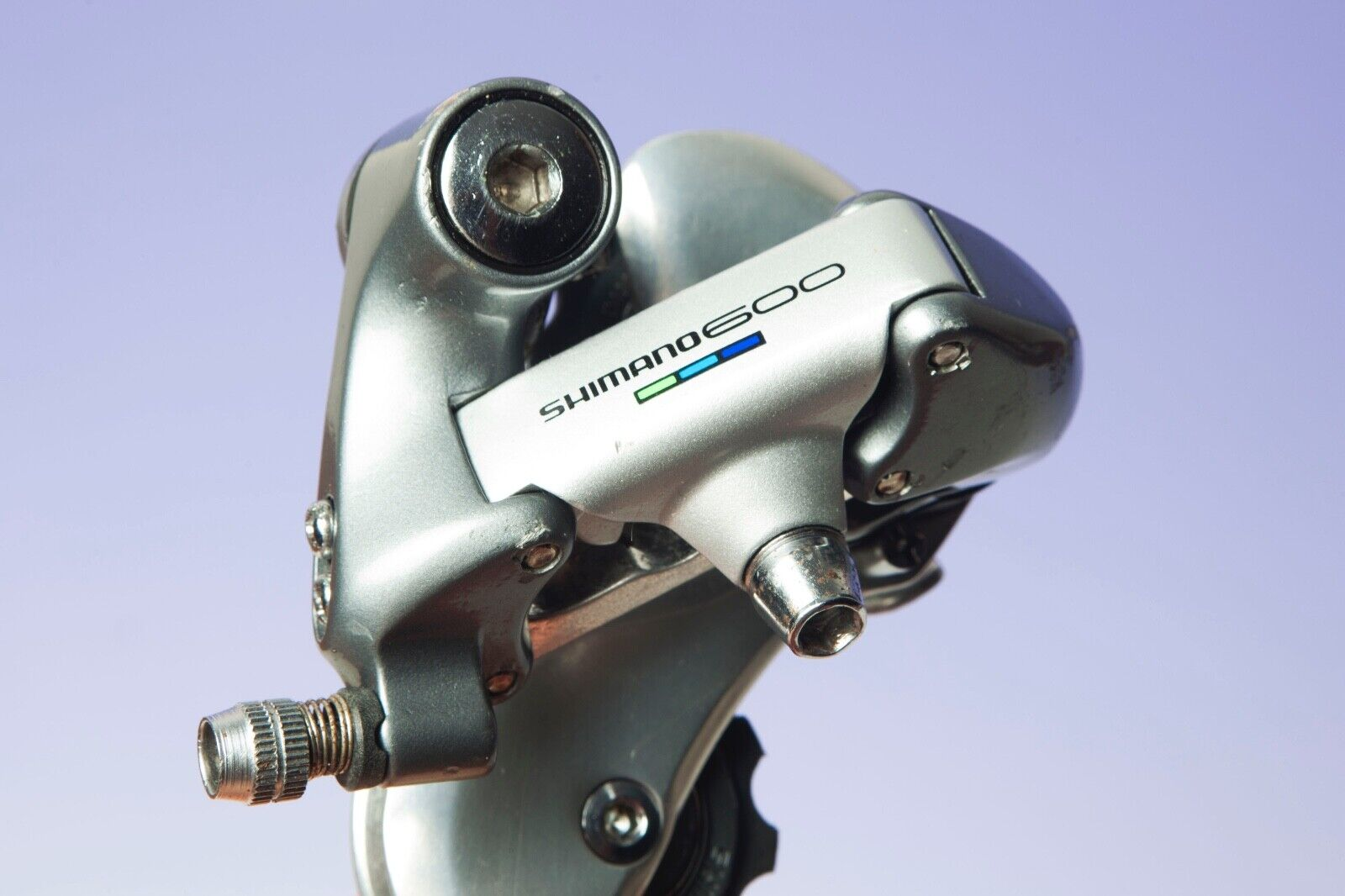 Shimano  600 rd-6400 Tri color Rear Derailleur Rear Gear  brand