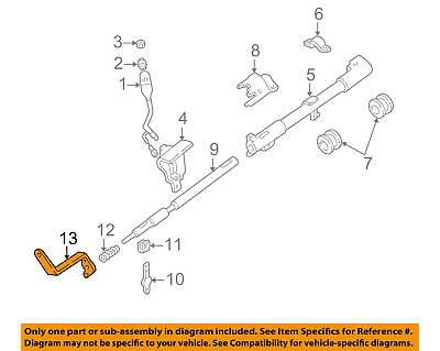 ford f 150 steering column diagram steering column arm ford f150 97 98 99 00 01 02 03 04 oem  ford f150 97 98 99 00 01 02 03 04 oem