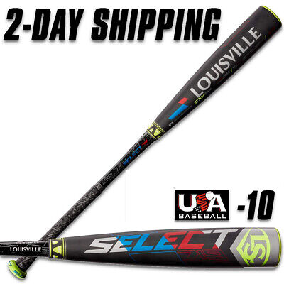 """2 5//8/"""" USA Baseball Bat -8 29/""""//21 oz Louisville Slugger 2019 Select 719"""