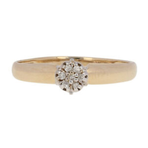 Single-Cut-Diamond-Engagement-Ring-10k-Yellow-Gold-Illusion-Solitaire-Cluster