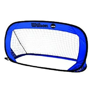 *WINTER SALE* BRAND NEW WILSON FOOTBALL SOCCER POP UP GOAL BLUE - HOME USE