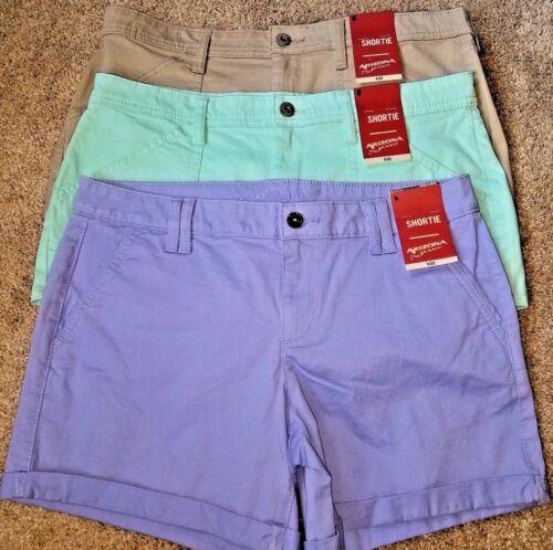 "Purple 36/"" Waist NWT Women/'s Juniors Arizona Shortie Shorts Size 13  -"