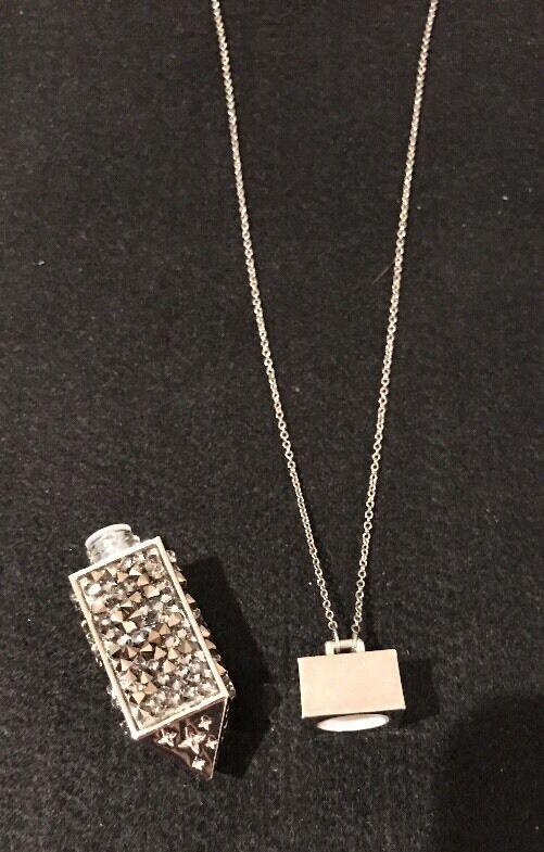 Belle Noel Swarovski Amulet Star Pendant Necklace… - image 3