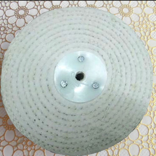 "100/% Cotton Multifunction 4/"" Metal Polishing Buffing Wheel Mop #HA2"