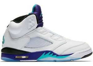 reputable site 607b9 04047 Details about AIR JORDAN 5 V NRG FRESH PRINCE GRAPE BEL AIR SIZE 10 - IN  HAND!