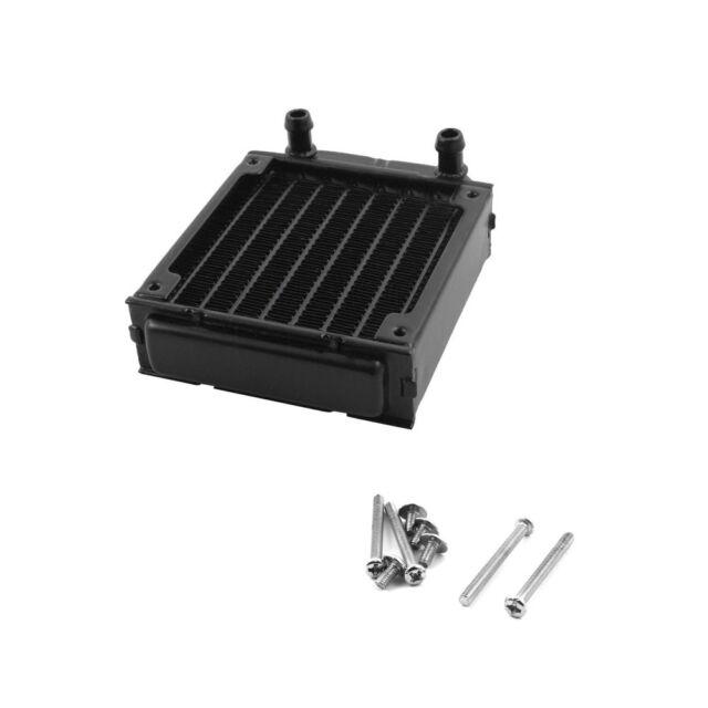 Neu 80mm Aluminium Computer Heizkörper Wasserkühler für CPU LED Heatsink  Sale