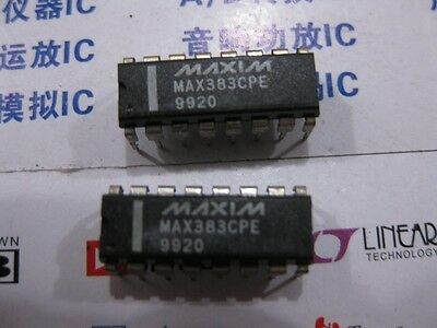 CMOS Analog Multiplexers//Switches  MAX4053 1X MAX4053CPE  Low-Voltage