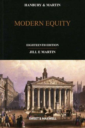 Hanbury & Martin: Modern Equity,Dr Jill Martin