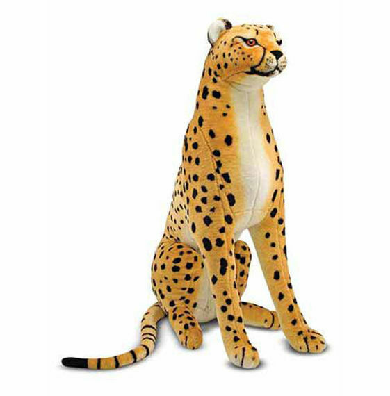Melissa and & Doug - Cheetah - Large Giant Plush Animal Stuffed Item  2128 NEW