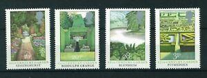GB-QE-II-1983-British-Gardens-full-set-of-stamps-Mint-Sg-1223-1226