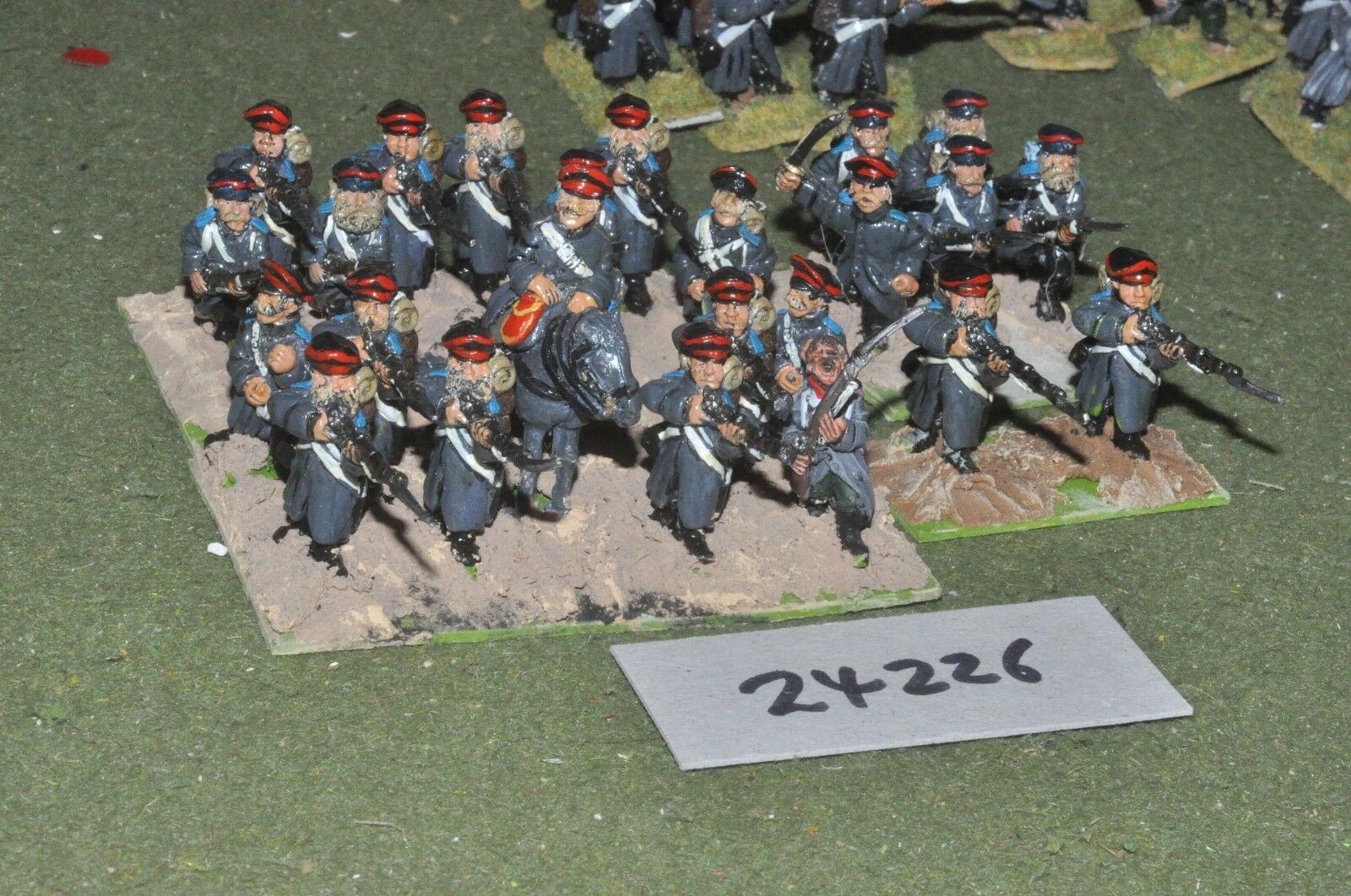 28mm 19th century   russian - crimean regiment 24 figures - inf (24226)