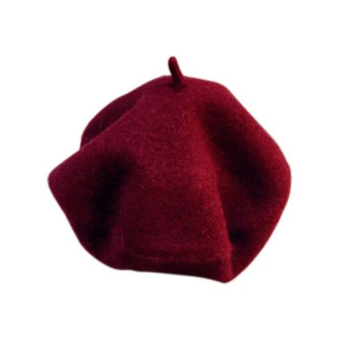 Infant Baby Kids Warm Beret Cap Hat Toddler Child Girls Soft Cashmere Wool Hat