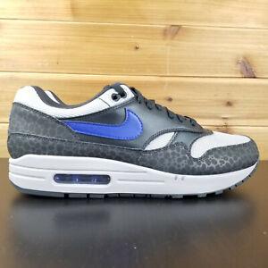 Details about Nike Air Max 1 SE Reflective Safari Print Blue Men's Shoes BQ6521 00