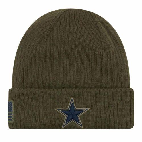 New Era Salute to Service Wintermütze Dallas Cowboys