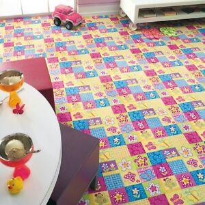 Kinderteppich-Spielteppich-Maedchen-Kinderzimmer-Butterfly-Schmetterling-nach-Mass