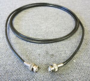 BNC Plug Male Straight To BNC Plug Male Straight 18M Black Coaxial RF Cable - London, United Kingdom - BNC Plug Male Straight To BNC Plug Male Straight 18M Black Coaxial RF Cable - London, United Kingdom