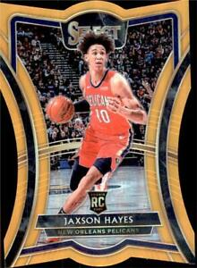 2019-20 Select Base Set Premier Level Orange Prizms Die Cut 170 Jaxson Hayes /65