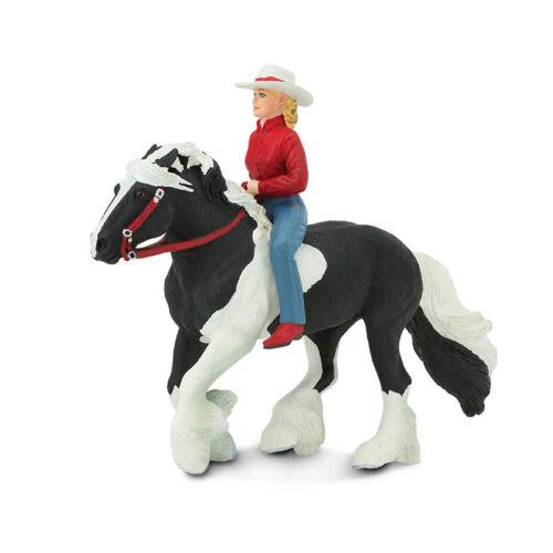 novedad # Safari s154005 Audrey en negro//blanco Tinker caballo personaje dentro del juego