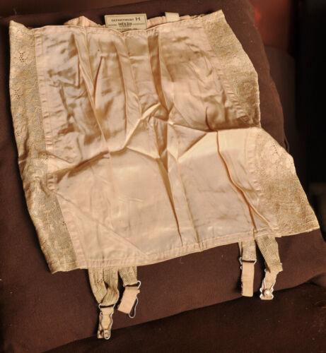 Vintage Pink 1950s Garter Girdle Suspender Belt Da