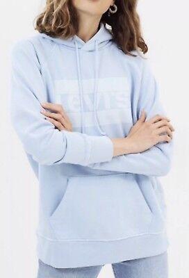 Sudadera Levi's® Mujer Azul Claro Color Block