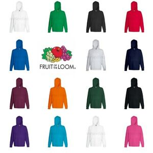 Fruit-of-the-Loom-Lightweight-Hoodie-Hooded-Sweatshirt