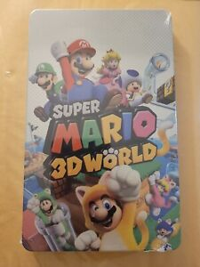 SUPER MARIO 3D WORLD / BOWSERS FURY RARE STEELBOOK CASE ONLY NO GAME BRAND NEW