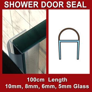 Shower Screen Door Plastic Stop Water Seal Strip 10mm 8mm
