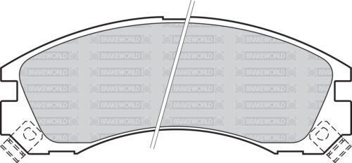 OEM FRONT DISCS AND PADS 294mm FOR CITROEN C-CROSSER ENTERPRISE 2.2 TD 2009