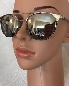 1740f7cfb21 Image is loading Linda-Farrow-Sunglasses-Wayferer-Mirror-Cat3-Silver-Frame-