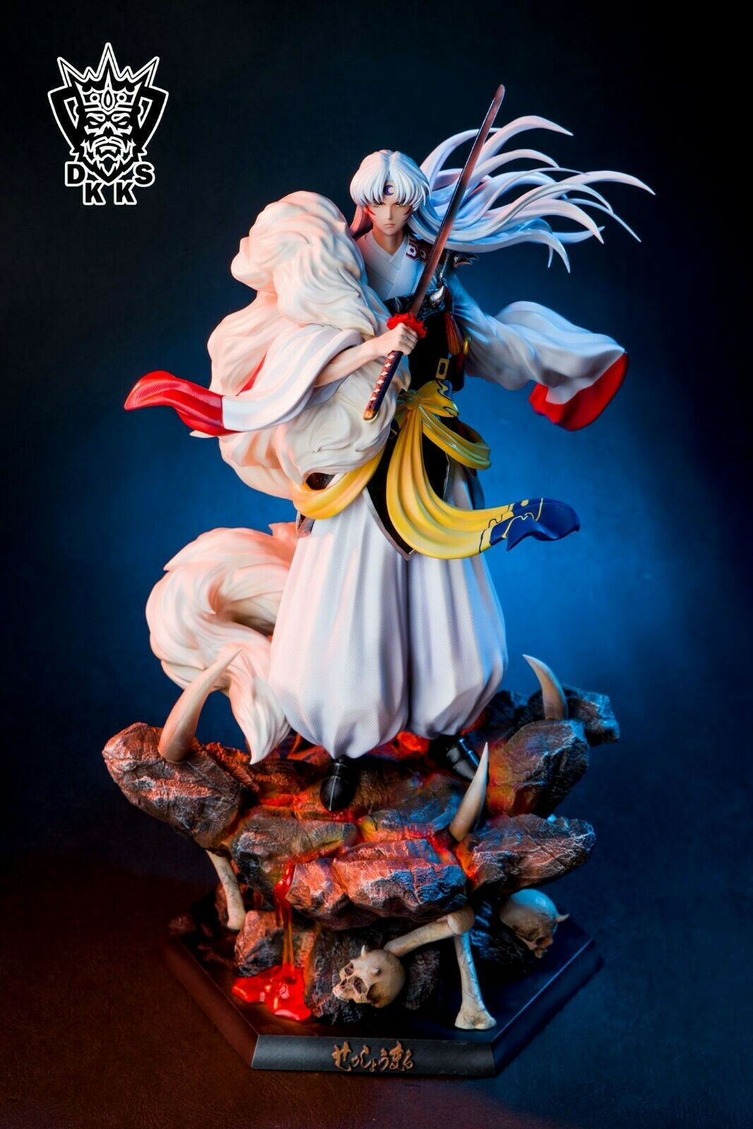 Dark King Studio Sesshoumaru Resin 1/6 Scale Patined Figure GK Collection N