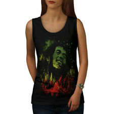 7e55be5217861a Bob Marley Legend Rebel Music Licensed Women s Junior Tank Top ...