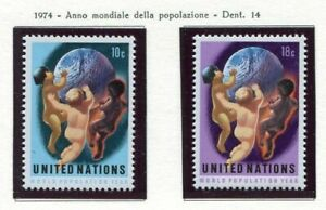 19116-UNITED-NATIONS-New-York-1974-MNH-World-Population-Year