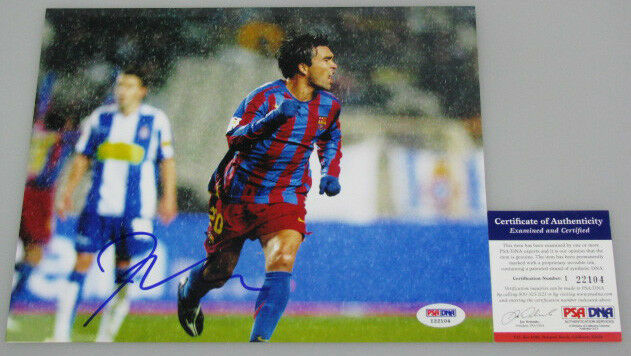 DECO Barcelona Hand Signed 8'x10' Photo + PSA PSA PSA DNA COA I22104 6e2a7b