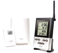 Oregon Scientific Wireless Rain Gauge Accurate Weather Station W/thermometer