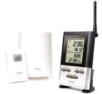 Oregon Scientific Wireless Rain Gauge Accurate Weather Station W/thermometer